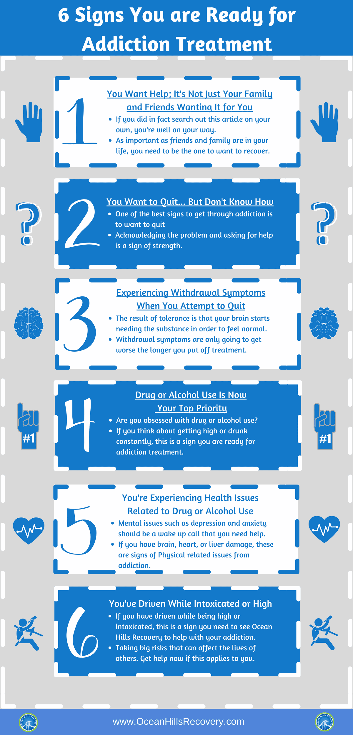 6 Signs Youre Ready For Addiction Treatment California Ocean